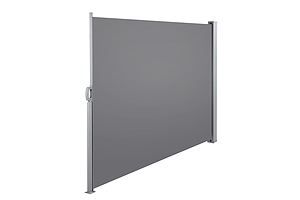 Retractable Side Awning 1.8 x 3M - Grey - Free Shipping