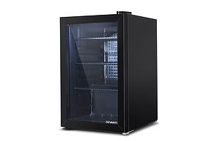 70L Bar Fridge Glass Door Mini Countertop Freezer Fridges Bottle Cooler