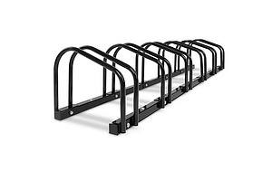 Portable Bike 6 Parking Rack Bicycle Instant Storage Stand - Black - Brand New - Free Shipping