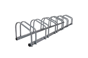 Bike Floor Parking Rack Instant Storage Stand Bicycle Cycling Portable Racks Silver - Brand New - Free Shipping