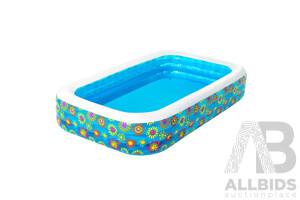 Inflatable Kids Play Pool Swimming Pool Rectangular Family Pools