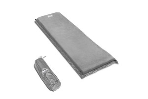Self Inflating Mattress Single 10cm Grey - Free Shipping
