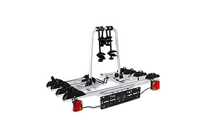4 Bicycle Tow Ball Car Carrier Mount - Black and Silver - Brand New - Free Shipping