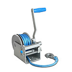 3 Speed Hand Winch with Rope - Brand New
