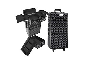 7 in 1 Portable Cosmetic Beauty Makeup Trolley - Diamond Black - Brand New - Free Shipping