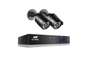 1080P 4-channel CCTV Security Camera - Free Shipping