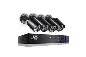 1080P Four Channel HDMI CCTV Security Camera - Free Shipping