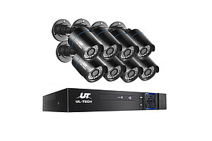 1080P Eight Channel HDMI CCTV Security Camera - Free Shipping