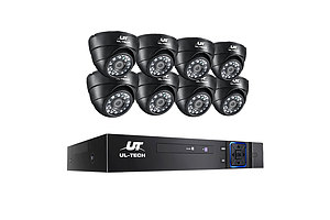 1080P 8-channel CCTV Security Camera - Free Shipping