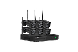 1080P 8CH NVR Wireless 6 Security Cameras Set - Brand New - Free Shipping