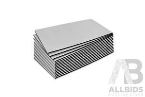 20sq/ft Car Sound Deadener Butyl Heat Proof Insulation Noise Deadening