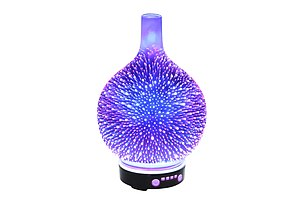 Aroma Diffuser 3D LED Light Oil Firework Air Humidifier 100ml - Brand New - Free Shipping