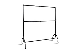6FT Double Metal Garment Display Rail - Black - Brand New - Free Shipping