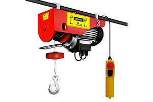 300/600kg 1200 W Electric Hoist Winch - Free Shipping