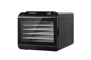 6 Tray Food Dehydrators Commercial Beef Jerky Maker Fruit Dryer Black - Brand New - Free Shipping