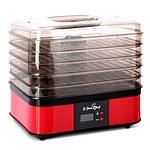 5 Tray Food Dehydrator- Red  - Brand New