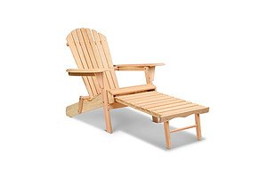 Adirondack Chair & Ottoman Set - Brand New