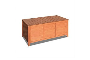 Fir Wood Outdoor Storage Box - Brand New - Free Shipping