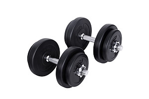 20kg Fitness Gym Exercise Dumbbell Set - Brand New- Free Shipping