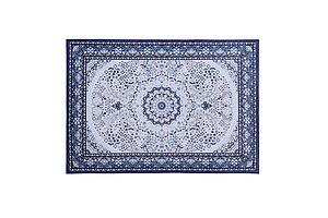 Short Pile Floor Rug 200x290cm Gaspar Blue
