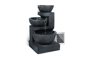 Solar Fountain with LED Lights - Free Shipping