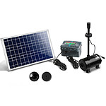 1600L/H Submersible Fountain Pump with Solar Panel - Brand New - Free Shipping