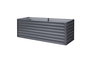 Garden Bed 240X80X77CM Galvanised Raised Steel Instant Planter 2N1 - Brand New - Free Shipping