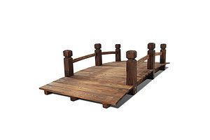 Wooden Garden Bridge - Brand New - Free Shipping