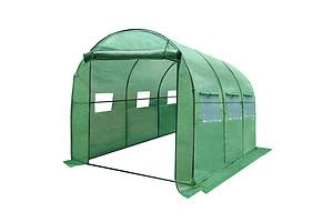 Greenhouse with Green PE Cover - 3M x 2M - Brand New - Free Shipping