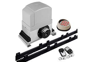 Auto Electric Sliding Gate Opener 1200KG Keypad 6M Rails - Brand New - Free Shipping