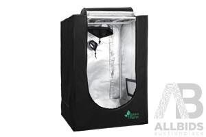Hydroponics Grow Tent Kits Hydroponic Grow System Black 60X60X90CM 600D Oxford