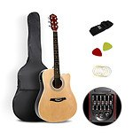 41 inch 5- Band EQ Electric Acoustic Guitar Full Size Natural - Brand New