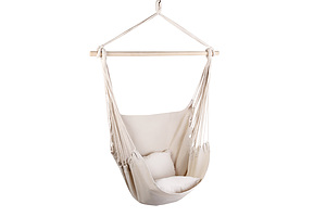 Gardeon Hammock Chair - Cream - Free Shipping