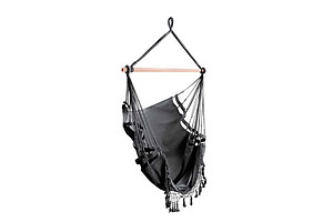 Hammock Swing Chair - Grey - Brand New - Free Shipping