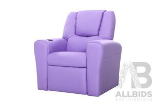 Kids Recliner - Purple - Brand New - Free Shipping
