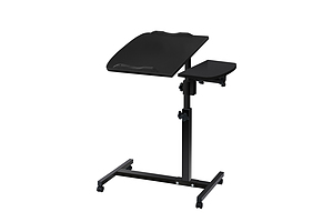 Rotating Mobile Laptop Adjustable Desk Black  - Brand New - Free Shipping