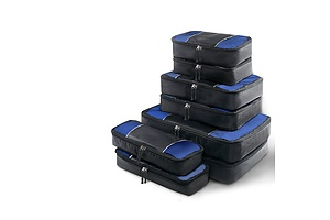 8 Piece Luggage Organiser Travel Bags - Free Shipping