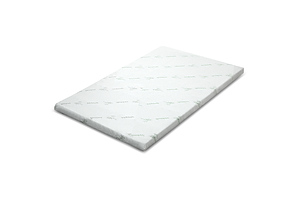 Cool Gel Memory Foam Mattress Topper Bamboo Cover Single 5CM Mat - Brand New - Free Shipping