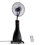 Portable Miting Fan with Remote Control - Black - Free Shipping