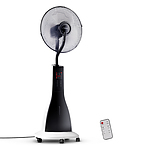Portable Miting Fan with Remote Control - White - Free Shipping