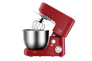 Electric Stand Mixer 1200W Kitche Beater Cake Aid Whisk Bowl Hook Red - Brand New - Free Shipping