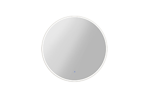 60CM LED Wall Mirror Bathroom Light Decorative Round Large Mirrors - Brand New - Free Shipping