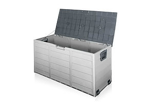 290L Outdoor Storage Box - Grey - Brand New - Free Shipping