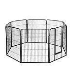 8 Panels Pet Dog Exercise Playpen 100CM - Brand New