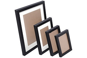 26 Piece Photo Gram Set - Black - Free Shipping