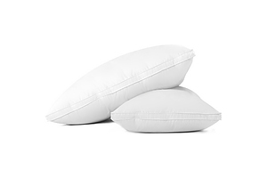 Goose Feather Down Twin Pack Pillow - Free Shipping
