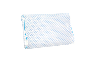 Memory Foam Pillow Ice Silk Cover Contour Pillows Cool Cervical Support - Brand New - Free Shipping