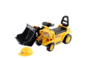 Kids Ride On Bulldozer Yellow - Free Shipping