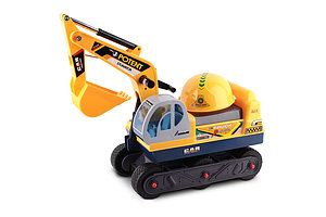 Kids Ride On Excavator Yellow - Brand New - Free Shipping