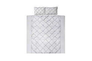 Super King Size Quilt Cover Set - Grey - Brand New - Free Shipping